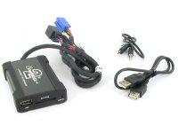 Volkswagen MP3/USB/SD/AUX illesztő Mini ISO csatlakozóval szerelt rádi