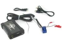 Audi MP3/USB/SD/AUX illesztő Quadlock csatlakozóval szerelt rádiókhoz