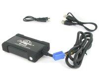 Renault MP3/USB/SD/AUX illesztő Mini ISO csatlakozóval szerelt rádiókh
