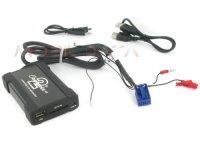 Skoda MP3/USB/SD/AUX illesztő Quadlock csatlakozóval szerelt rádiókhoz