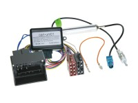 VW, Seat, Skoda, -ISO rádió csatlakozó kábel Fantom táppal és CAN-BUS