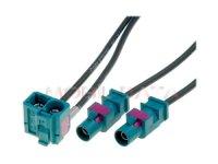FAKRAx2 - Dupla Fakra antenna adapter kábel 520177