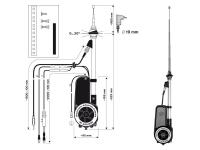 Hirschmann HIT AUTA 2050 univerzális automata antenna