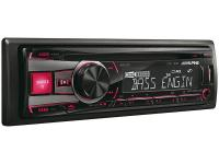Alpine CDE-190R - CD-vevő USB vezérlő kettős megvilágítással