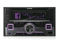 Alpine CDE-W296BT 2 DIN CD rádióerősítő/USB/iPod vezérlő Bluetooth kih