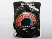 Autóhifi kábel készlet 10 mm² erősítő bekötéshez Gladen Audio WK 10