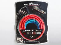 Autóhifi kábel készlet 20 mm² erősítő bekötéshez Gladen Audio WK 20