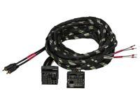Gladen Quadlock PLUG & PLAY kábelköteg nagyjelszint bemenetű erősítőkh