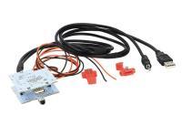 Jeep Renegade 2015-től USB/AUX megtartó adapter 44-1145-001
