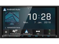 Kenwood DMX8019DABS AV-vevő Bluetooth és Smartphone vezérlés