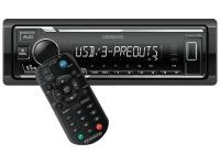 Kenwood KMM-106 Digitális média vevő USB-vel, fehér gombvilágítással