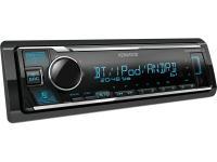 Kenwood KMM-BT305 mechanika nélküli USB autórádió iPod Direct vezérléssel, változtatható színű megvilágítással