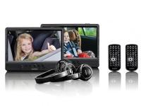 Lenco DVP-1045 2 x 10 colos hordozható DVD játszó USB/SD lejátszással