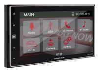 Macrom M-DL4000 2 DIN méretű mechanika nélküli médialejátszó autóba