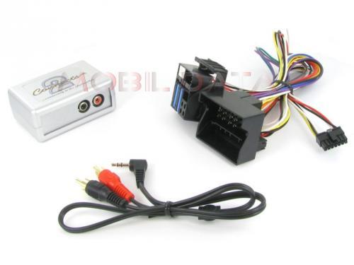 AUX-IN Adapter BMW (Quadlock) csatlakozóval 44VBMX003