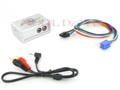 AUX-IN Adapter VW 8 érintkezős (miniISO) csatlakozóval CTVVGX001