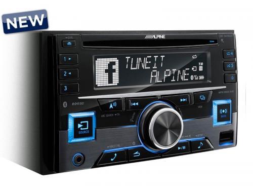 Alpine Alpine CDE-W296BT 2 DIN-es CD rádió Bluetoothal