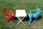 Gyerek szék és asztal garnitúra