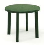 Asztal átm. 90 cm zöld