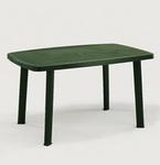 Asztal 140x90 cm zöld