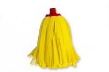 Felmosófej szintetikus sárga 22 cm 120 gr