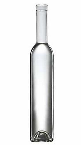 Pálinkásüveg 0,5 l Svéd bordói