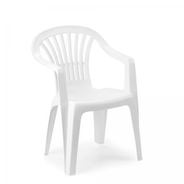Kerti szék alacsonytámlás fehér Altea